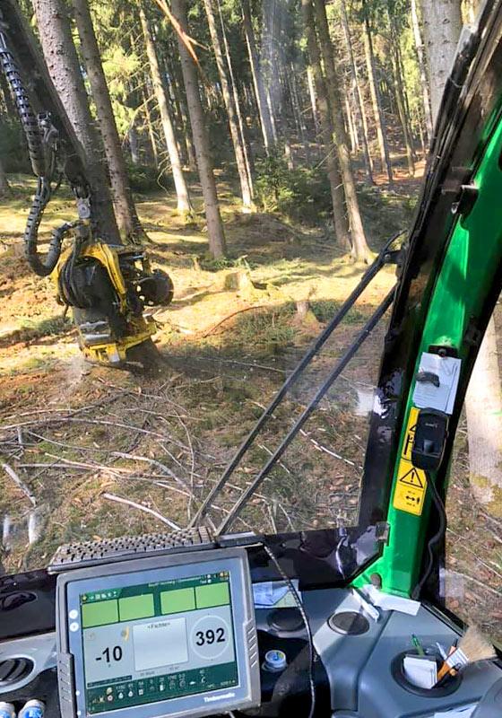 Holzernte Sporrer Holzindustrie